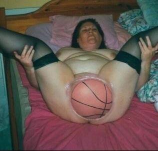 Vagina shooting ping pong ball