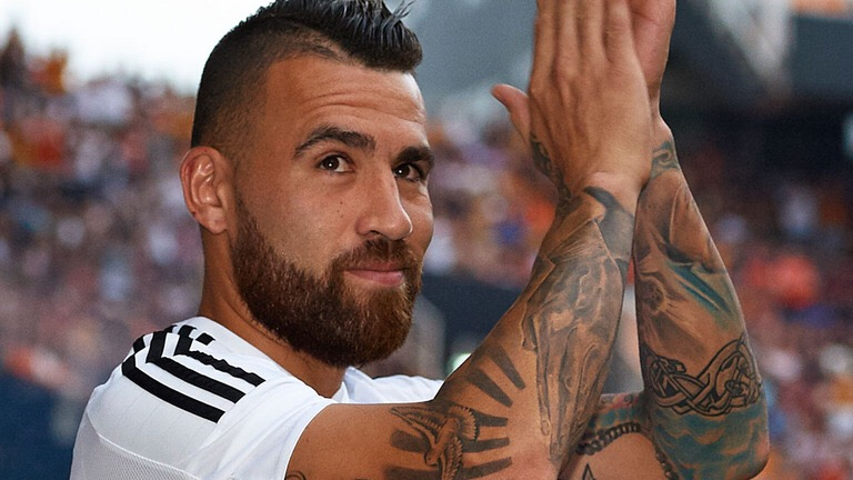 Nicolás Otamendi tattoo, the Argentine number 30 from Buenos Aires, Argentina